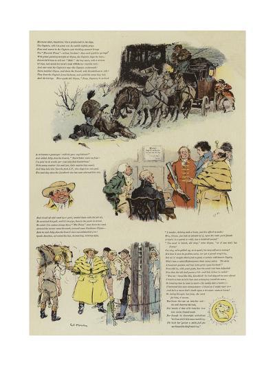 The Biter Bit, a Tale of Coaching Days-Charles Edmund Brock-Giclee Print