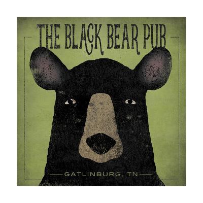 The Black Bear Pub-Ryan Fowler-Art Print