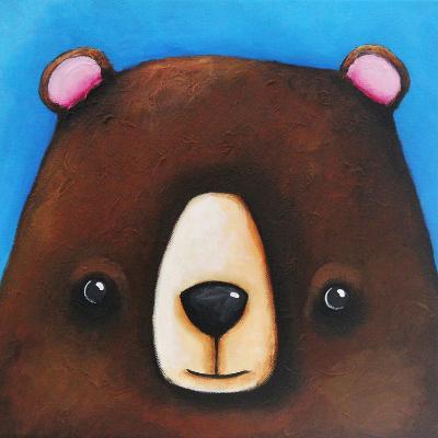 The Black Bear-Lucia Stewart-Wall Mural