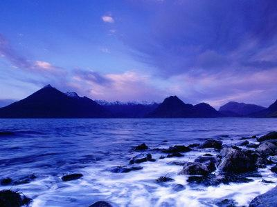The Black Cuillin Mountains, Isle of Skye, Scotland-Gareth McCormack-Photographic Print