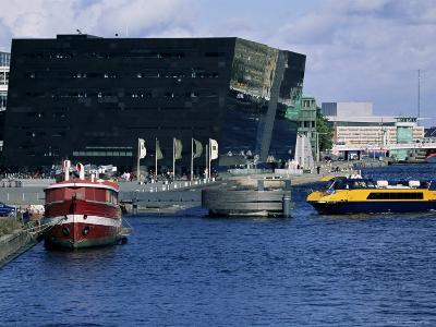 The Black Diamond, New Annexe to the Royal Library, Copenhagen, Denmark, Scandinavia-Kim Hart-Photographic Print