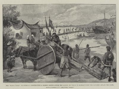 The Black Flags in Formosa-William Heysham Overend-Giclee Print