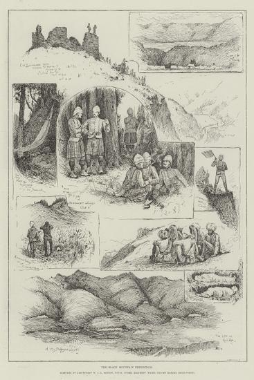 The Black Mountain Expedition-Henry Charles Seppings Wright-Giclee Print
