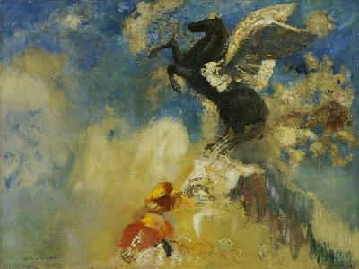 The Black Pegasus, 1909-1910-Odilon Redon-Giclee Print