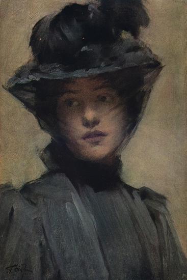 'The Black Veil', c19th century-Samuel Melton Fisher-Giclee Print