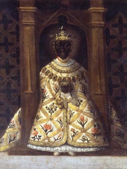 The Black Virgin in the Chadaraita Given by Louis XI (1423-83)--Giclee Print