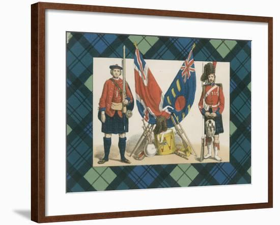 The 'Black Watch,' or Forty-Second Royal Highlanders-English School-Framed Giclee Print