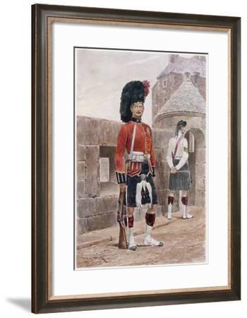 The Black Watch Royal Highlanders-Richard Caton Woodville-Framed Giclee Print