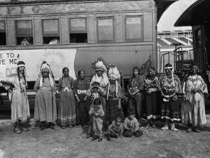 The Blackfeet Indians from Glacier National Park