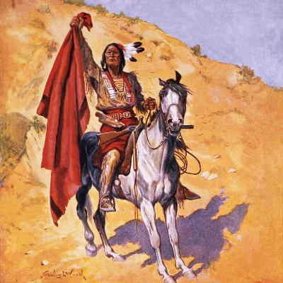 The Blanket Indian-Stanley L^ Wood-Giclee Print