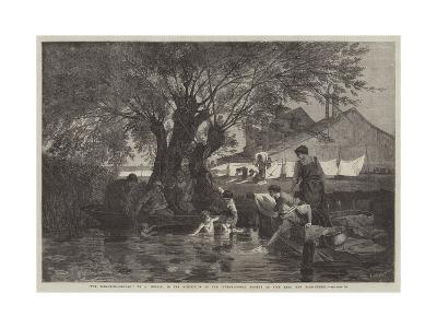The Bleaching-Ground-Auguste Joseph Herlin-Giclee Print