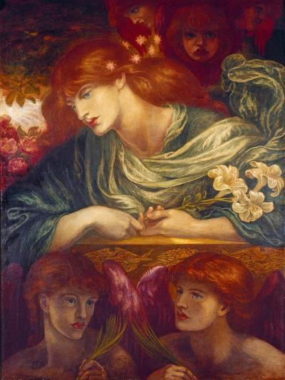 The Blessed Damozel, 1875-79-Dante Gabriel Rossetti-Giclee Print