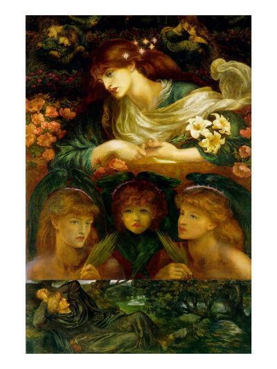 The Blessed Damozel-Dante Gabriel Rossetti-Art Print