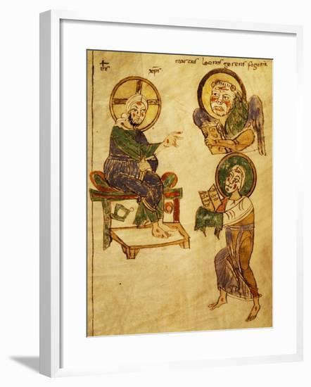 The Blessing Christ--Framed Giclee Print