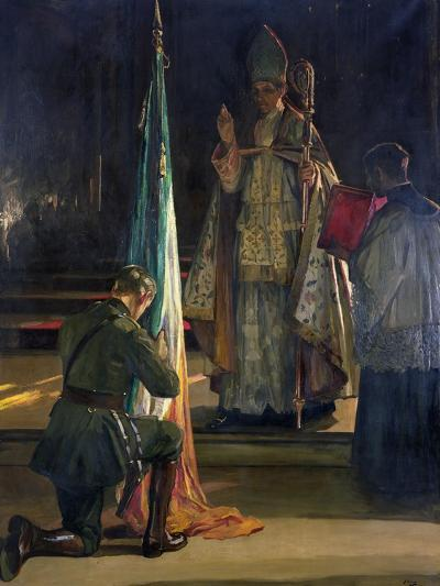 The Blessing of the Colours, 1922-Sir John Lavery-Giclee Print