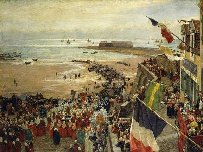 The Blessing of the Sea-William Morison Wyllie-Giclee Print