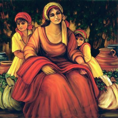 The Blessings Of The Vine-Maria Sharylen-Giclee Print
