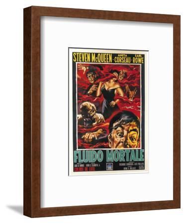 The Blob, Italian Movie Poster, 1958