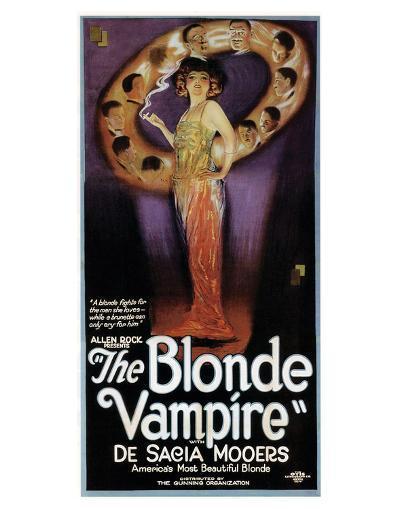 The Blonde Vampire - 1922--Giclee Print