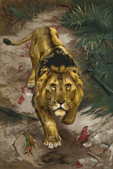 The Blood Trail-John Trivett Nettleship-Giclee Print