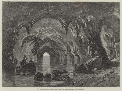 The Blue Grotto at Capri-Richard Principal Leitch-Giclee Print