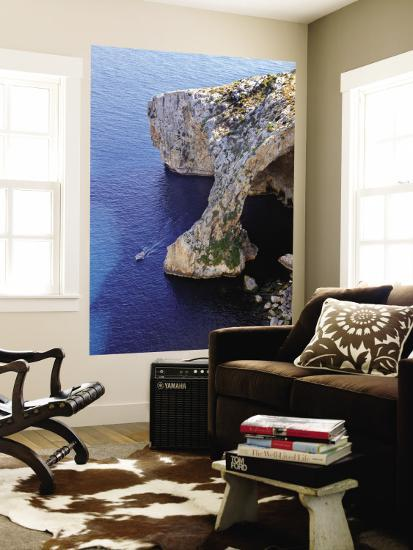 The Blue Grotto-Jean-pierre Lescourret-Wall Mural