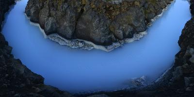 The Blue Lagoon-Raul Touzon-Photographic Print