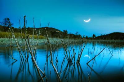 The Blue Lake-Lee Sie-Photographic Print