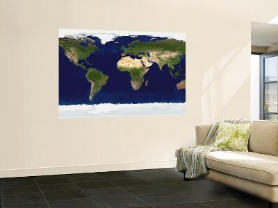 The Blue Marble: Land Surface, Ocean Color and Sea Ice--Giant Art Print