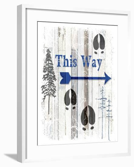 The Blue Moose - This Way I-LightBoxJournal-Framed Giclee Print