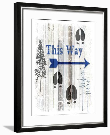 The Blue Moose - This Way I-LightBoxJournal-Framed Giclee Print