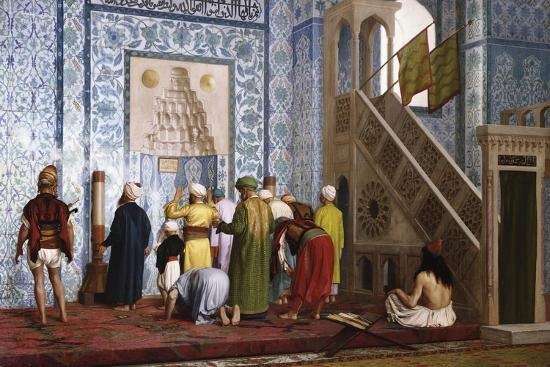 The Blue Mosque, 1878-Jean-L?on G?rome-Giclee Print