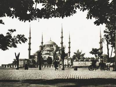 The Blue Mosque, Constantinople--Photographic Print