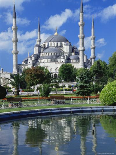 The Blue Mosque (Sultan Ahmet Mosque), Unesco World Heritage Site, Istanbul, Europe, Eurasia-Nico Tondini-Photographic Print