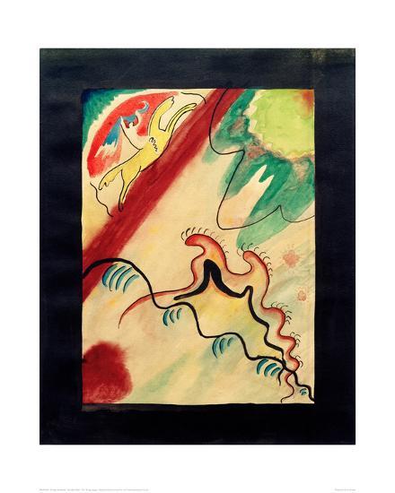 The Blue Rider, 1911-Wassily Kandinsky-Giclee Print