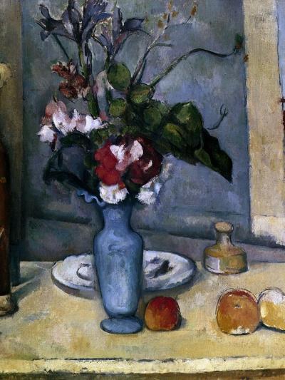 The Blue Vase, 1885-1887-Paul C?zanne-Giclee Print