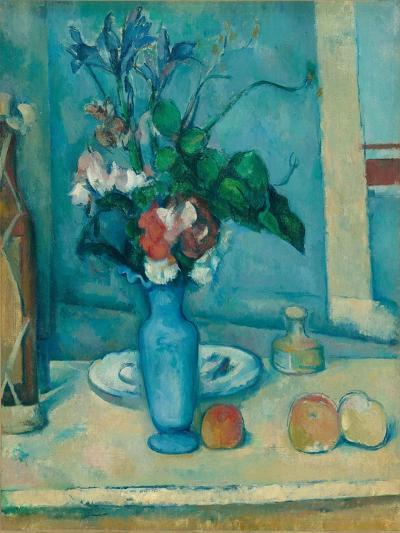 The Blue Vase (Le Vase Ble)-Paul C?zanne-Giclee Print