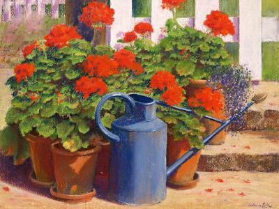 The Blue Watering Can, 1995-Anthony Rule-Giclee Print