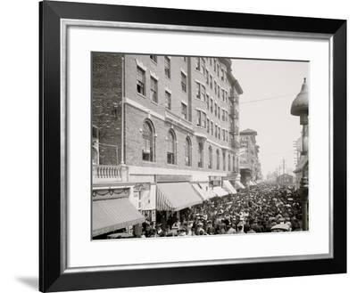 The Boardwalk Parade, Atlantic City, N.J.--Framed Photo