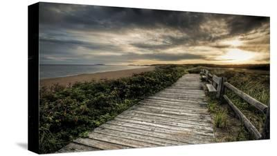 The Boardwalk-Eric Wood-Stretched Canvas Print