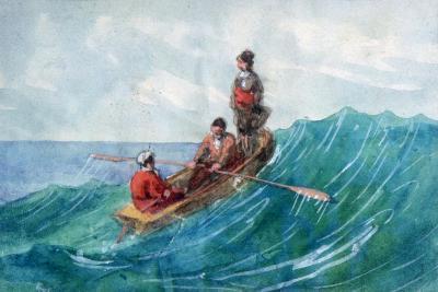 The Boat, 1820-1876-George Sand-Giclee Print