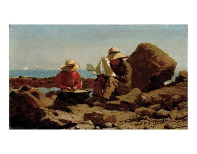 The Boat Builders, 1873-Winslow Homer-Art Print