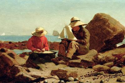 The Boat Builders, 1873-Winslow Homer-Giclee Print