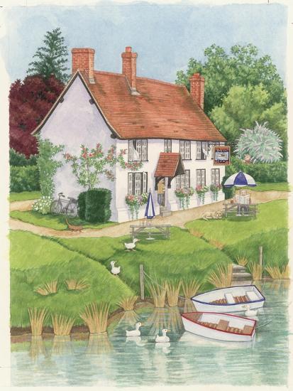The Boat Inn, 2003-Linda Benton-Giclee Print