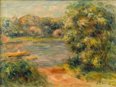 The Boat on the Lake, 1901-Pierre-Auguste Renoir-Giclee Print