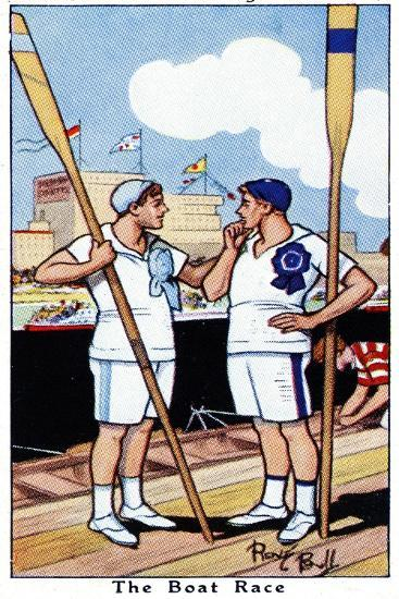 The Boat Race, 1936-René Bull-Giclee Print