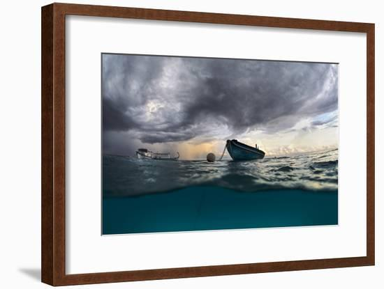 The Boat-Andrey Narchuk-Framed Photographic Print