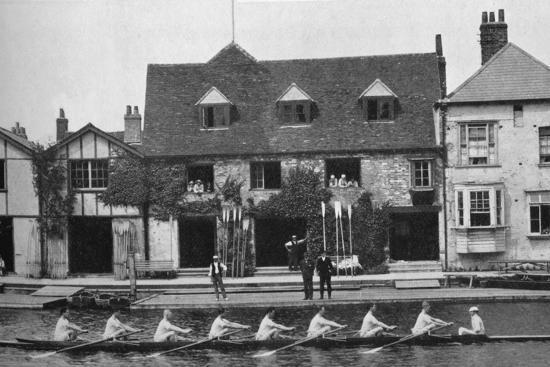 'The Boathouse After Reconstruction, 1909', 1935-Mr Mundy-Photographic Print