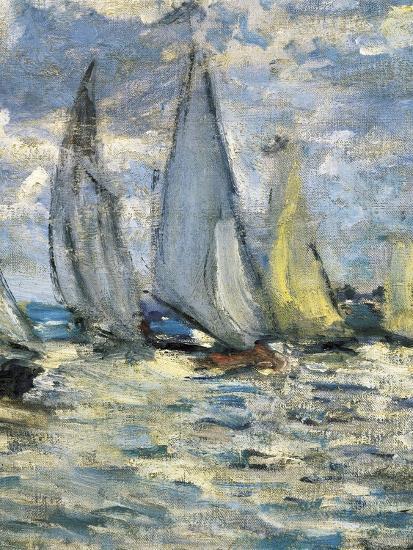 The Boats, or Regatta at Argenteuil-Claude Monet-Art Print