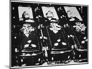 The Bodies of Tom and Frank Mclaury and Bill Clanton, Tombstone Arizona, 26th October 1881